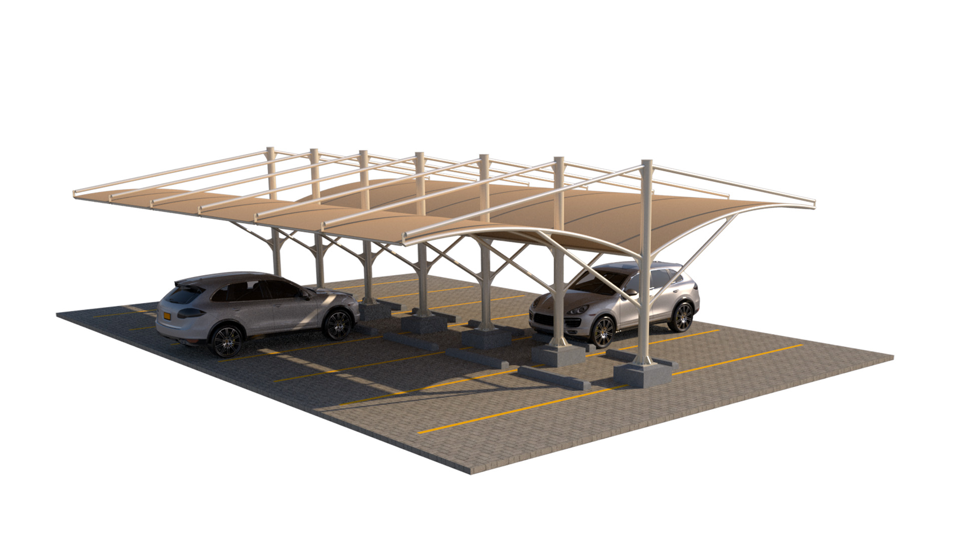 Car Parking Shades Manufacturers in uae