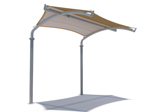 cantilever-arch-walkway Royal Tents & Shades