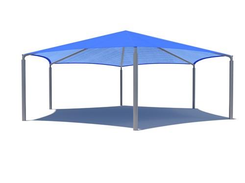 hexagon Royal Tents & Shades