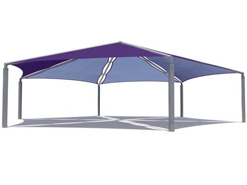hexagon-multi-panel Royal Tents & Shades