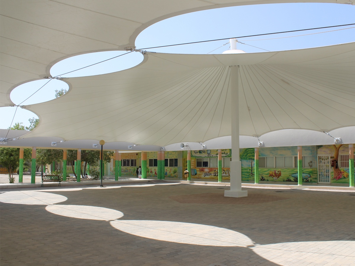 Tensile Fabric Shade Manufacturers & Suppliers in UAE