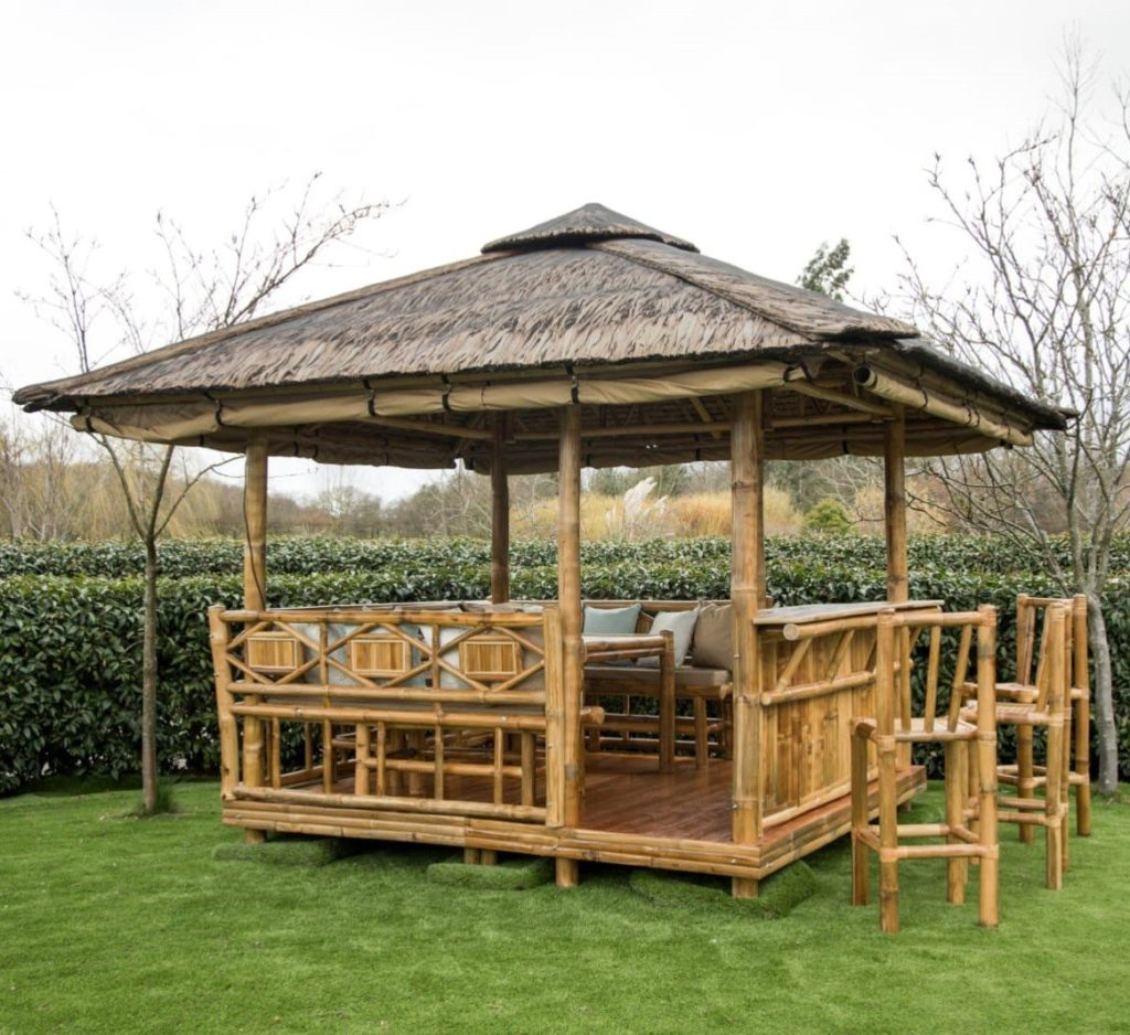 bamboo gazebo Royal Tents & Shades